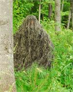 ultra light ghillie jacket mossy