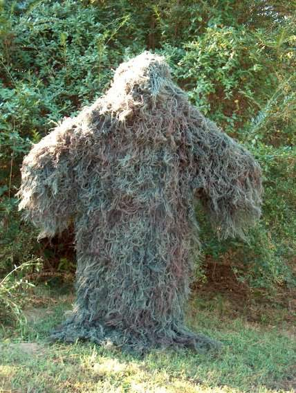 Ghillie Suits Ghillie Poncho  - Mossy  fitness retailer