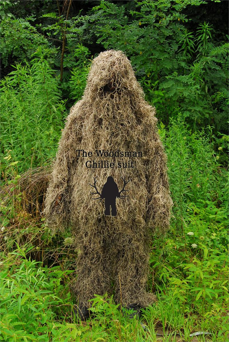 Ghillie Suits 2 Piece Synthetic Suit - Mossy - X-Large
