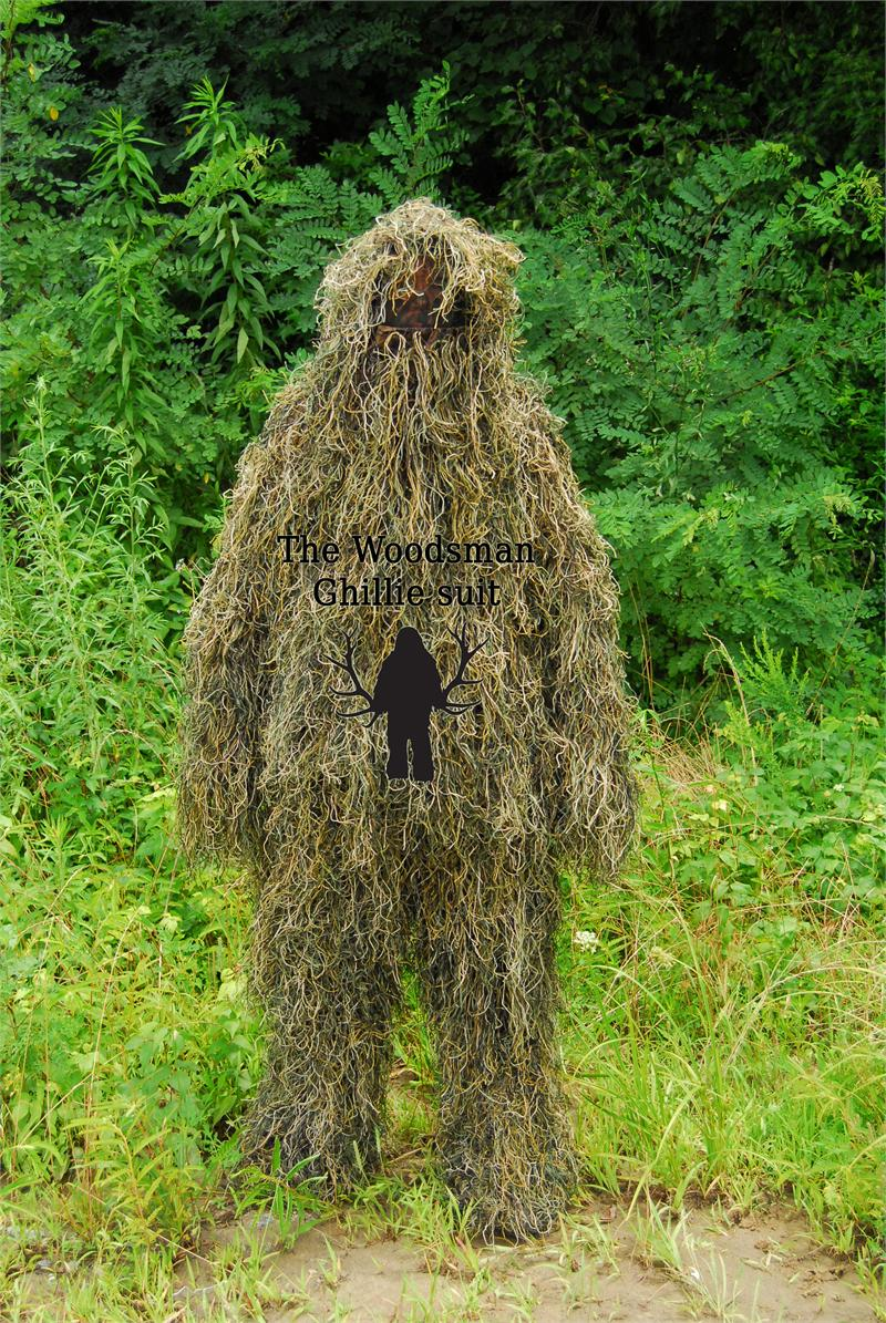 The Woodsman Generation 2 Ghillie Suit With Mosquito Net Hood