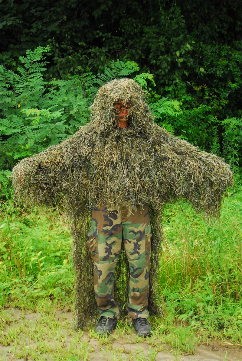 how to make a homemade ghillie suit at home
